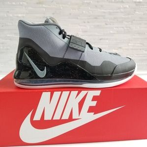 New NIKE Air Force Max Cool Grey Sneakers
